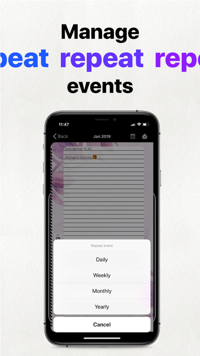 Dagbok, Planeringskalender på PC
