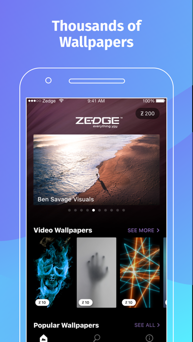 ZEDGE™ Wallpapers screenshot one