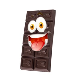 Cute Chocolate Sticker Pack