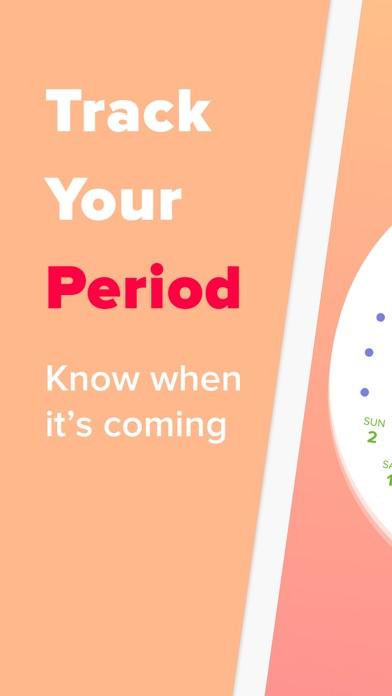 Screenshot #1 pour Period Tracker - Eve