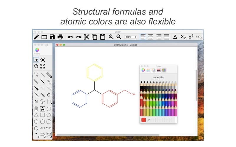 Chemgraphic review screenshots