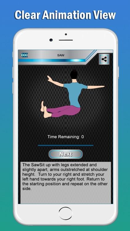 Pilates Fitness Yoga Workouts screenshot-6