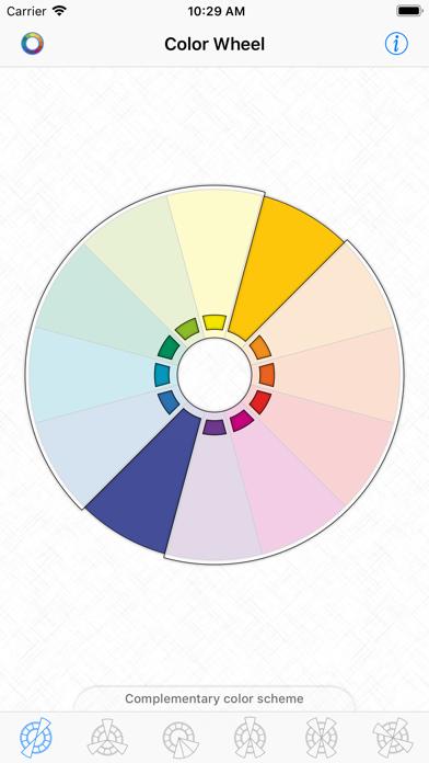 Color Wheel - Basic Schemesのおすすめ画像2