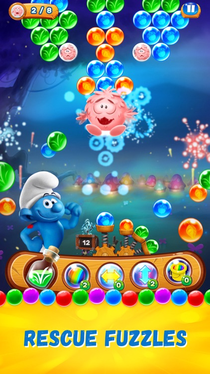Smurfs Bubble Shooter Story screenshot-4