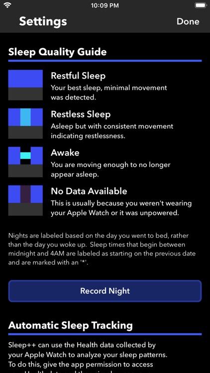 Sleep++ screenshot-3
