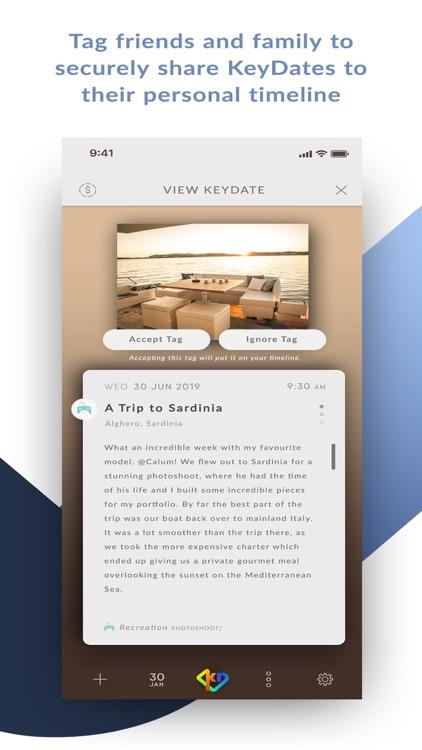 KeyDates Your Memory App screenshot-4