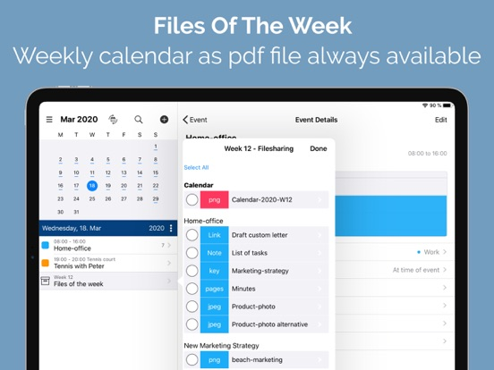 FileCalendar Screenshots