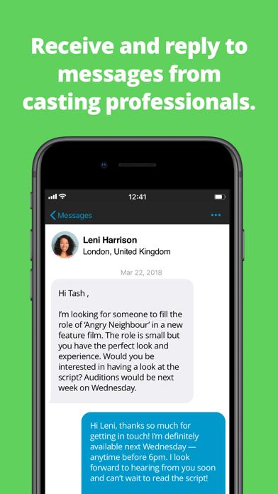 StarNow Audition Finder screenshot
