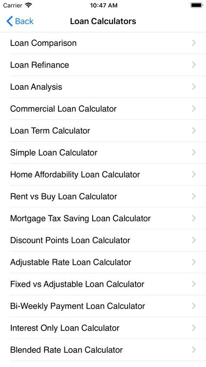 EZ Financial Calculators Pro screenshot-9
