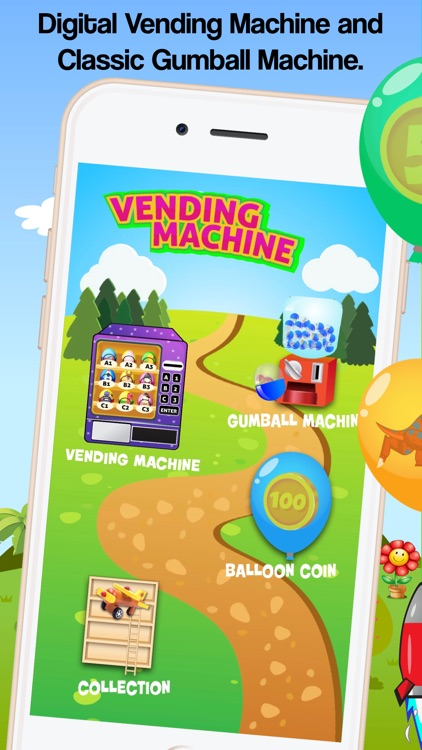 Vending machine gumball eggs