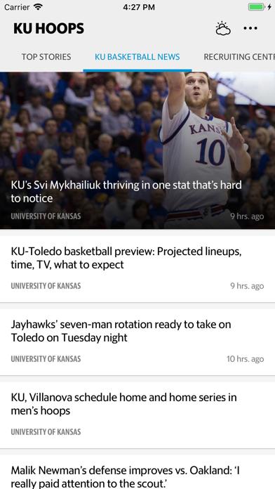 KU Hoops Screenshot