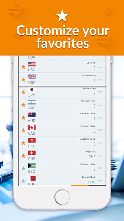 Currency converter, live rates screenshot-4