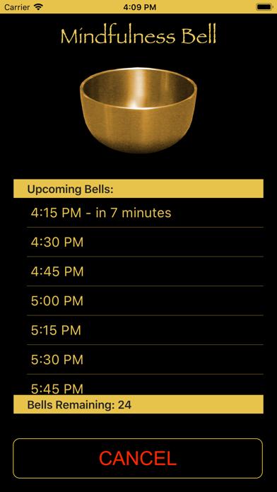 Screenshot #3 pour Mindfulness Bell