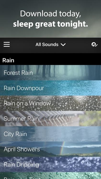 Rain Rain Sleep Sounds screenshot-6