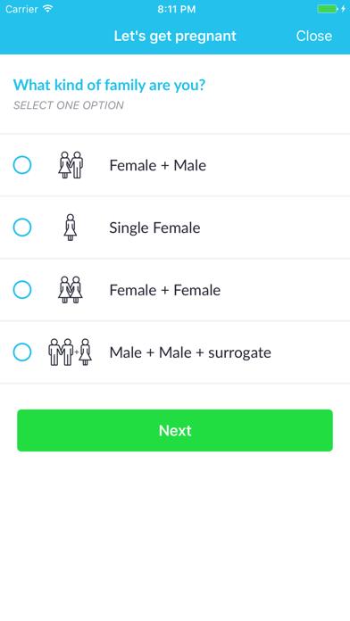 Fertility Astrology screenshot two
