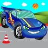 ABCを学ぶための自動車ゲーム