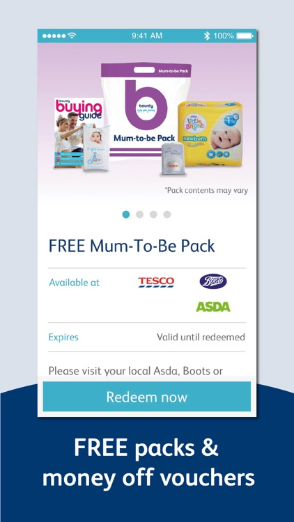 Bounty Pregnancy & Baby App screenshot-0