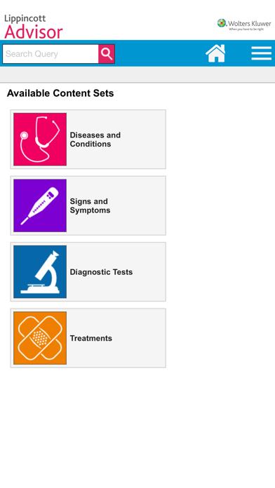 Lippincott Nursing Advisor Screenshot