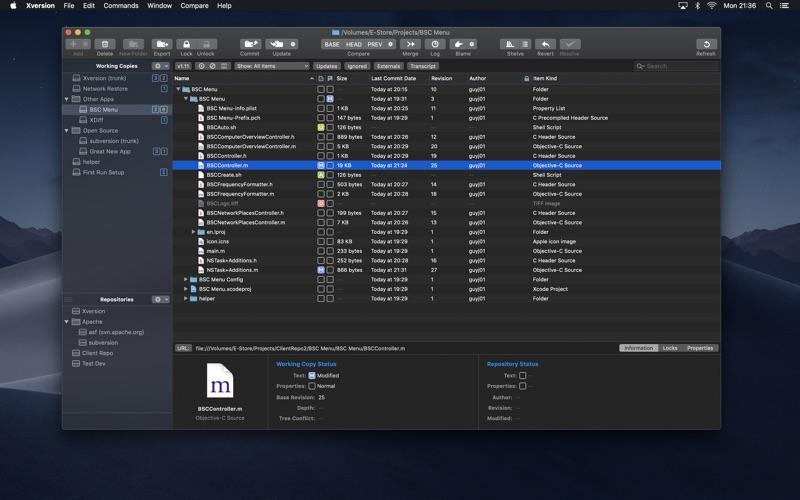 Xversion Screenshots