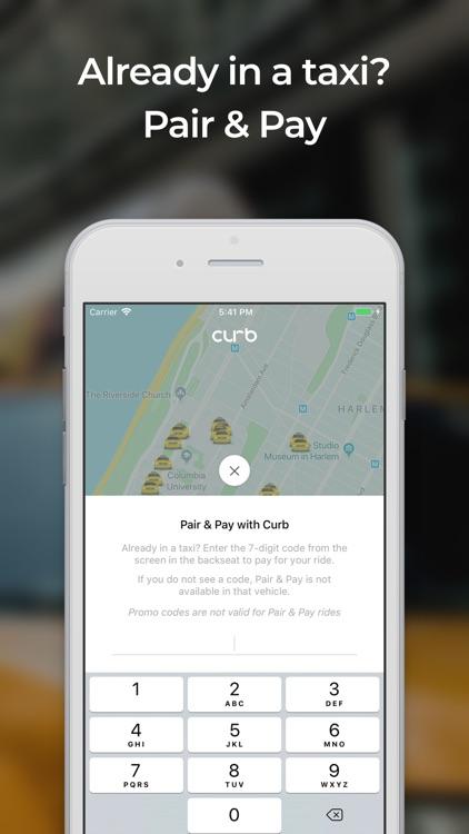 Curb - The Taxi App screenshot-4