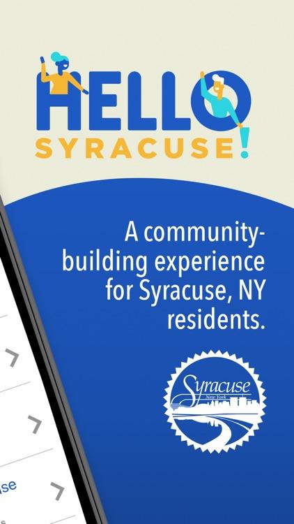 Hello Syracuse!