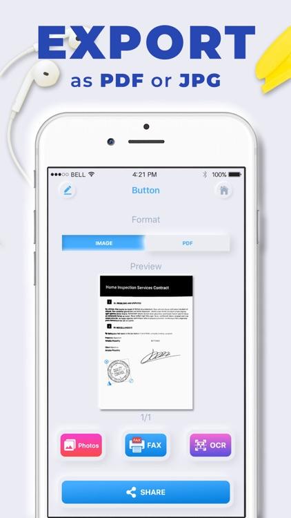 Photos to PDF: Scanner App screenshot-3
