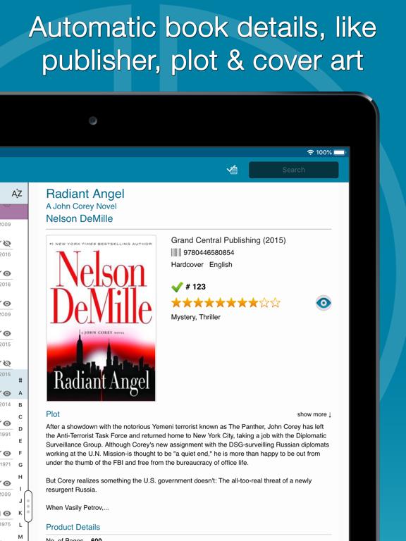 CLZ Books - Book Database screenshot