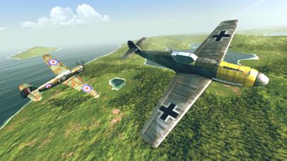 Screenshot from Warplanes: WW2 Dogfight FULL