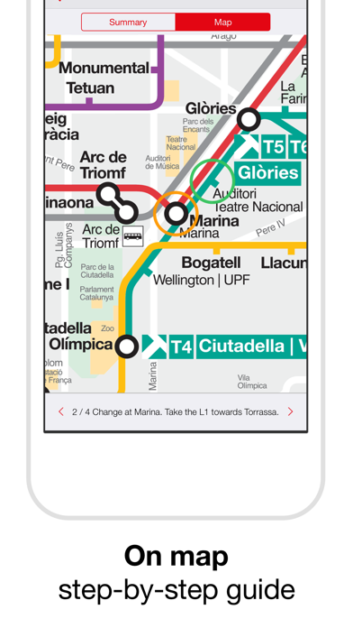 Barcelona Metro - TMB Map screenshot four