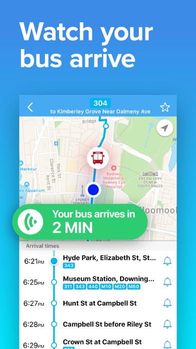 Sydney Transport • Rail & Bus screenshot