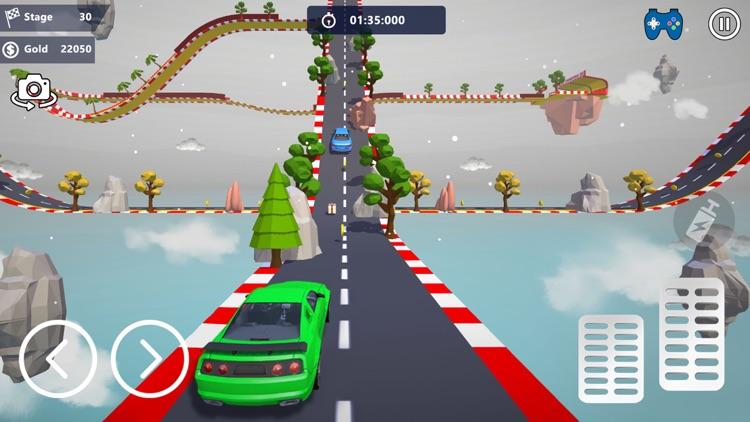 Car Stunts 3D - Sky Parkour screenshot-4