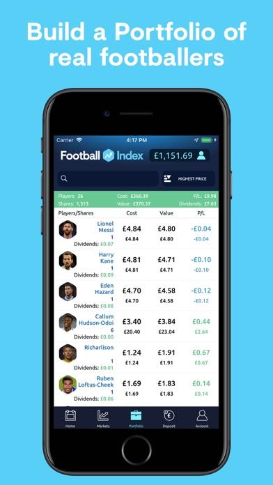Football INDEX - Bet & Trade screenshot three