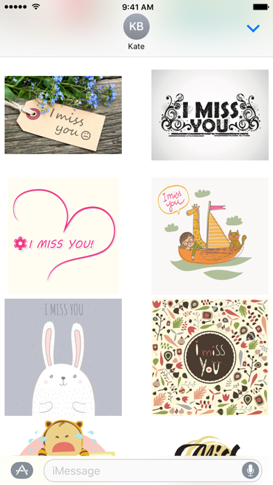 I Miss You Stickers wiki review and how to guide