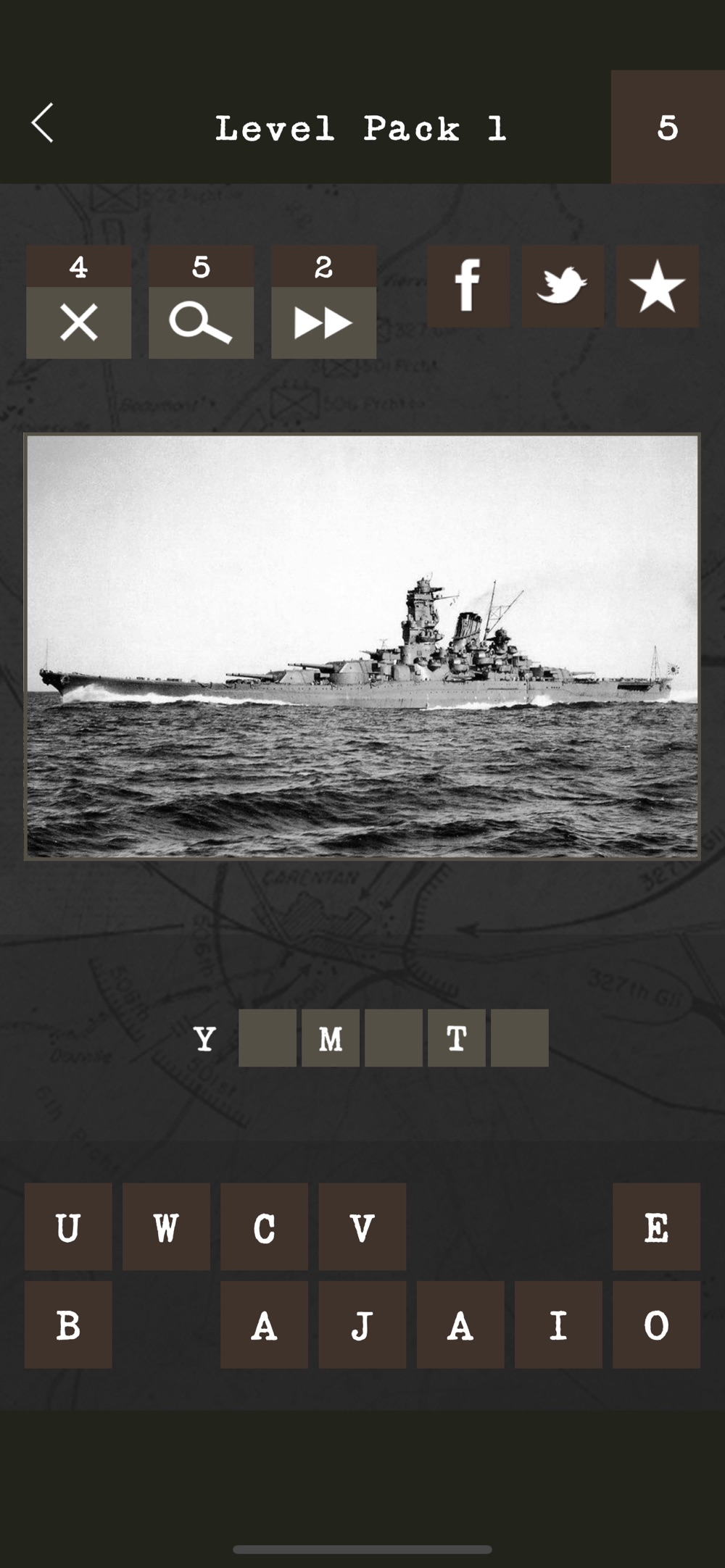 Guess the World War II Weapon Cheat Codes