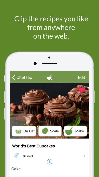 ChefTap Recipe Organizer