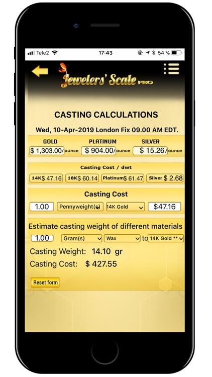 Jewelers' Scale Pro screenshot-6