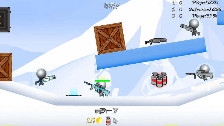 Stickman Multiplayer Shooter screenshot-5