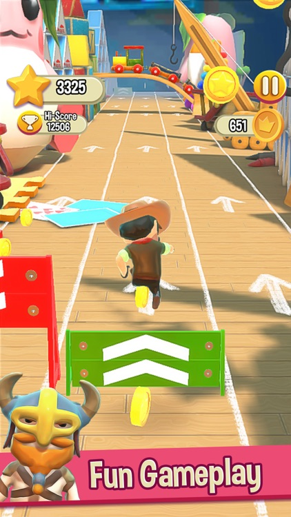 Toy Run 3D Endless Runner Game screenshot-4