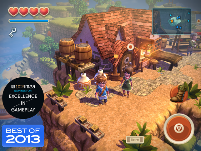 ‎Oceanhorn ™ Screenshot