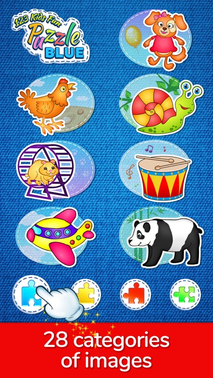123 Kids Fun Puzzle Blue Games screenshot-7