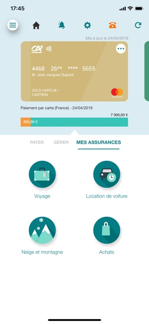 Ma Carte Ca On The App Store