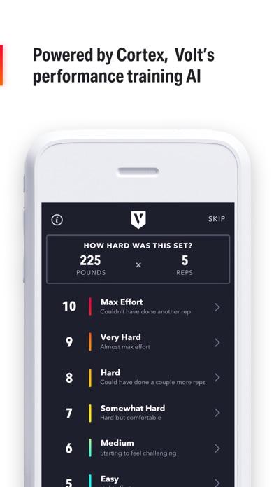 Volt: #1 AI Workout App Screenshot