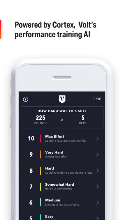 Volt: #1 AI Workout App screenshot-3