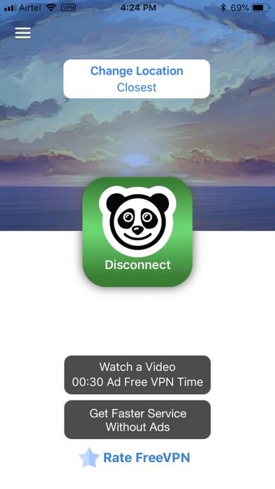 Screenshot for Free VPN by Free VPN .org™ in Germany App Store