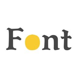 FontBook for Designers
