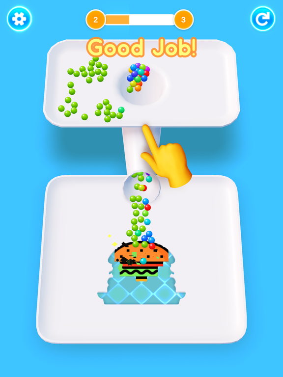 Color 3D Balls screenshot 9