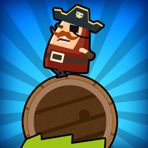 Captain Pirate a Roller Barrel