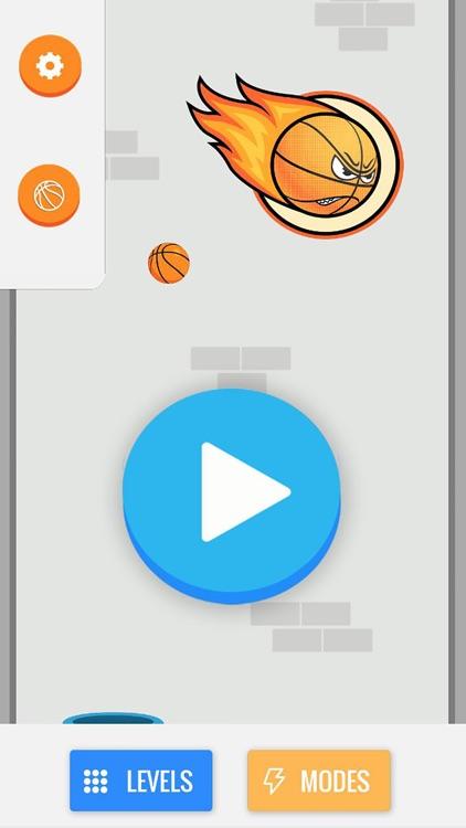 Flappy Basket : Battle Shot