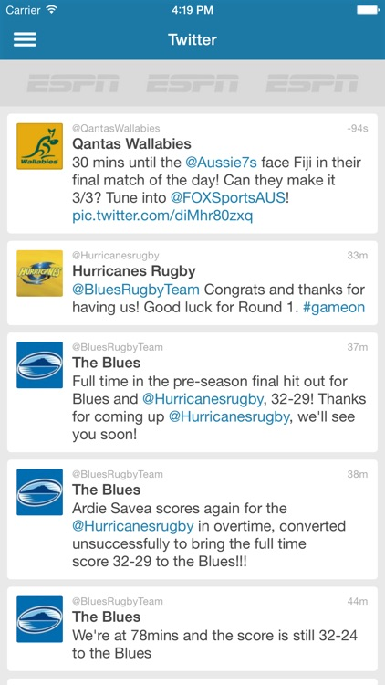 Rugby Live Scores - Rugby Now screenshot-3