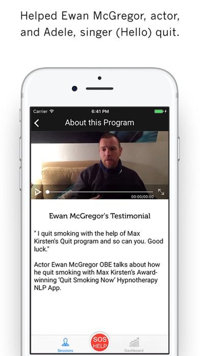 Quit Smoking NOW - Max Kirsten screenshot two